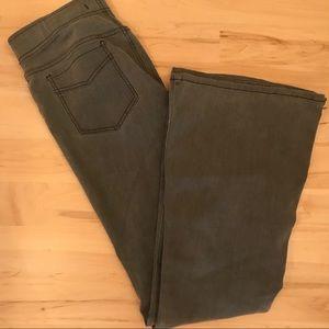 Free People extreme flare legging pants